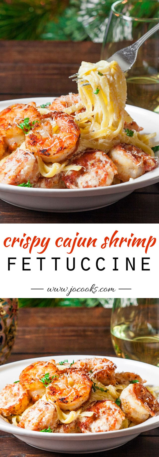crispy-cajun-shrimp-fettucini-collage