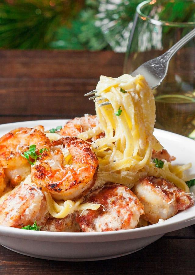 crispy-cajun-shrimp-fettucini