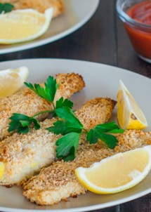 lemony tilapia fish sticks-1-2