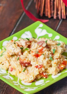 sausage-chicken-and-cheesy-rice