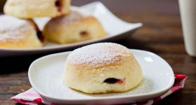 baked jam filled donuts-1