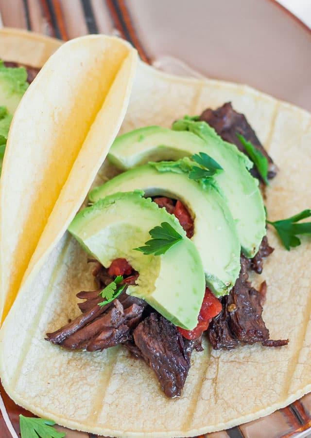 Beef Carnitas Tacos