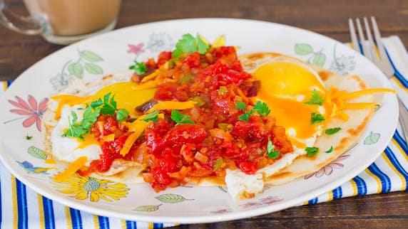 Huevos Huevos RancherosRancheros
