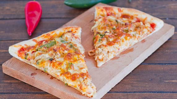 chicken fajita pizza-1-2