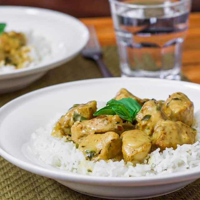 Basil Chicken In Coconut Curry Sauce Recipes — Dishmaps