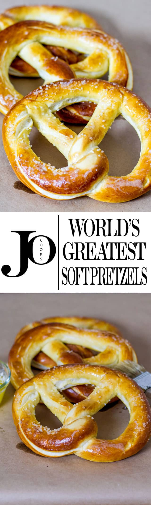 World's Greatest Soft Pretzels photo collage
