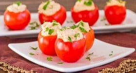 shrimp and crab dip stuffed cocktail tomatoes-1-5