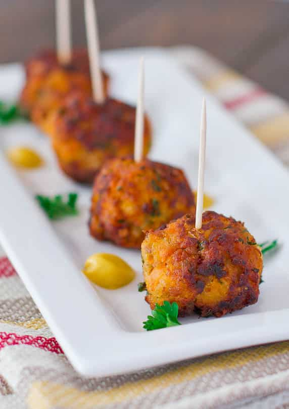 Sweet Potato Turkey Meatballs