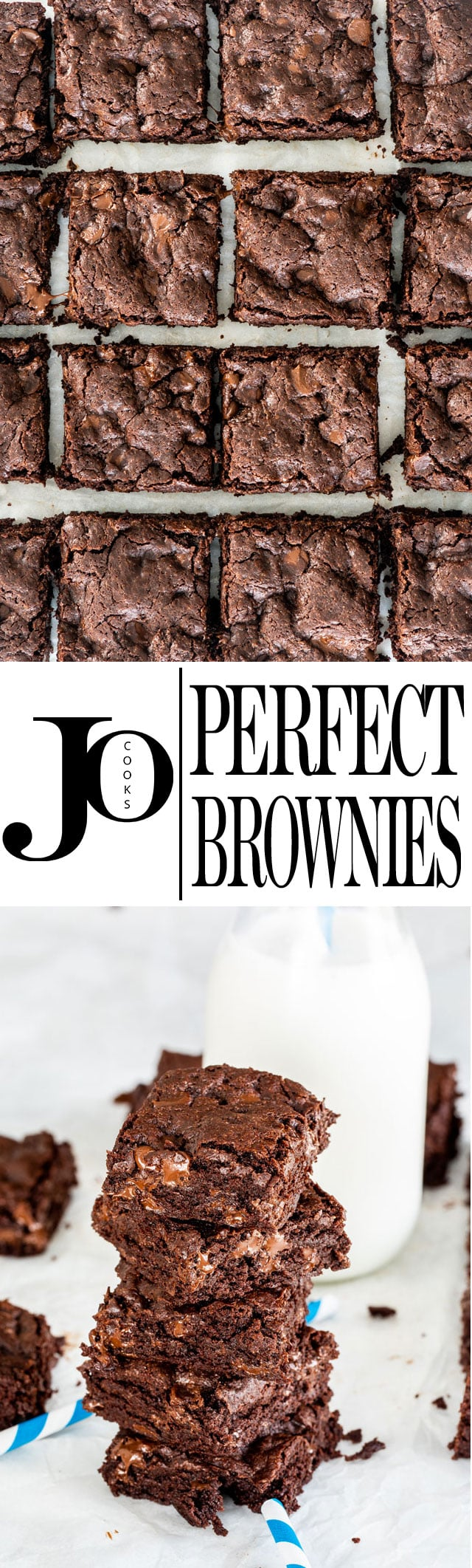 This Brownie Recipe is the only no-fail recipe you'll ever need! Perfect gooey brownies, incredibly fudgy, super easy to make and downright indulgent! #brownies