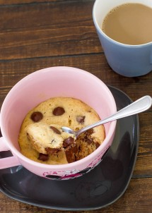 chocolate chip cookie in a cup-1-3