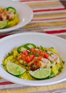 tequila lime chicken with cilantro lime rice-1-4