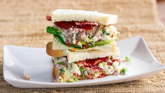 Easy Chicken Salad Sandwiches