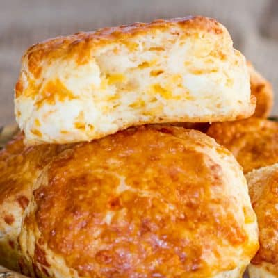 Cheddar Cheese Buttermilk Biscuits