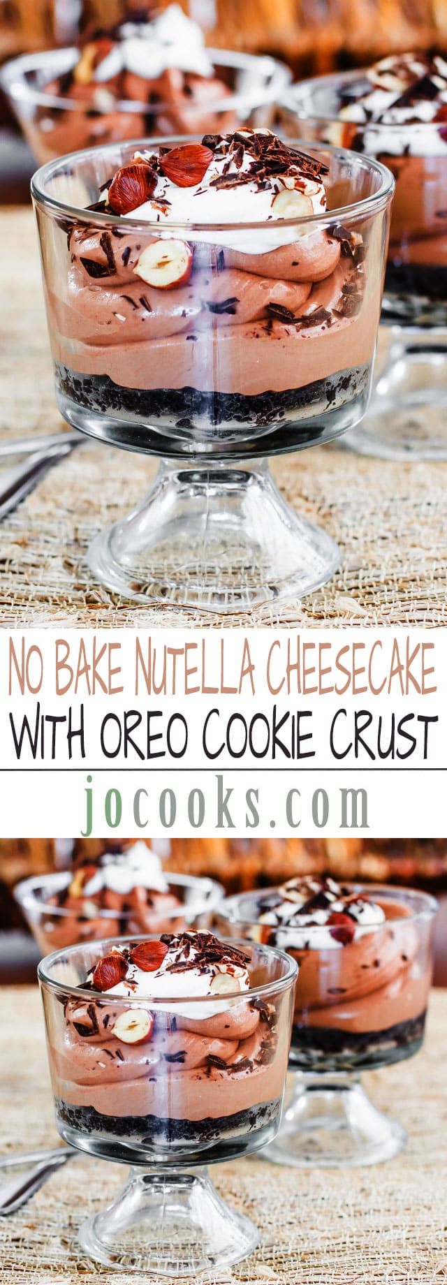 no-bake-nutella-cheesecake-collage