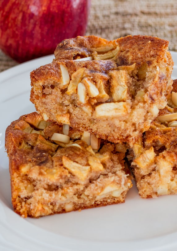 Apple Almond Squares