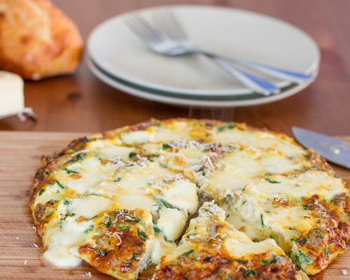 sausage spinach and bocconcini frittata-1