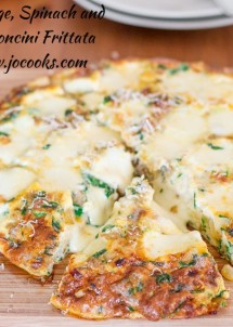 sausage-spinach-and-bocconcini-frittata