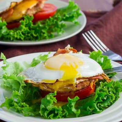 Breakfast Turkey Stacks