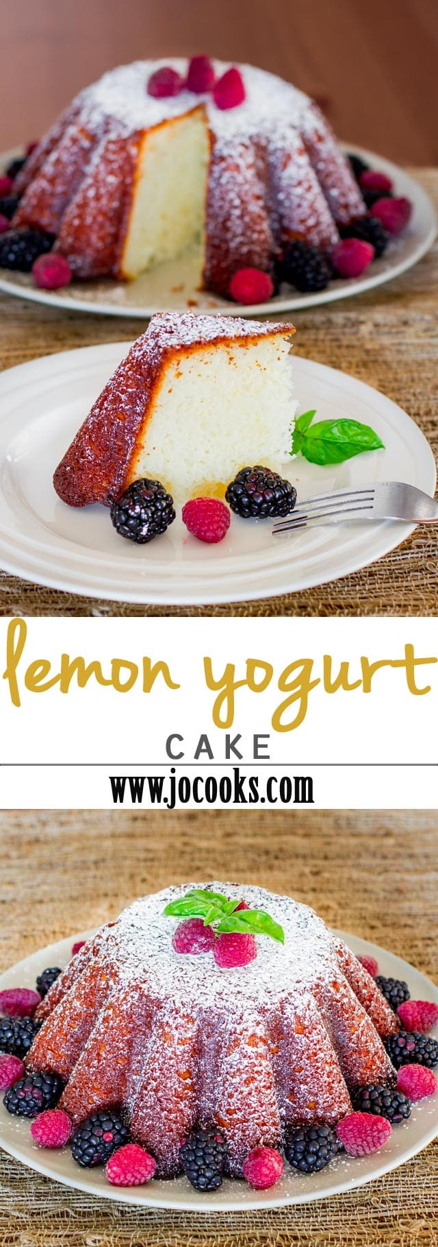 This lemon yogurt cake is simple to make, super moist and lots of lemon flavor. If you love lemons and lemony desserts, then you'll love this delicious cake.