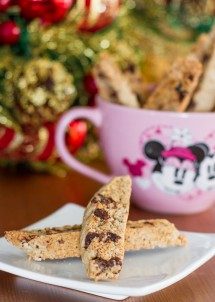Day 11: Chai Chocolate Chip Biscotti