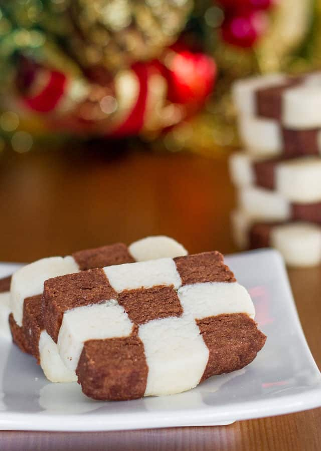 Day 3: Checkerboard Cookies