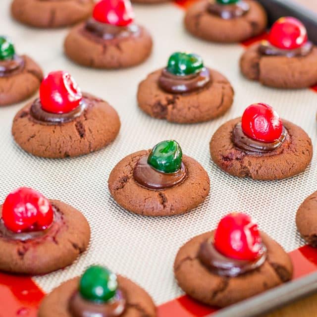 chocolate-fudge-cherry-cookies-9