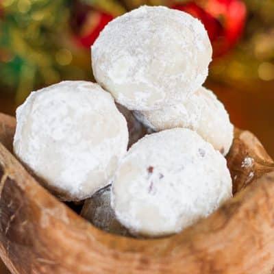 Day 2: Chocolate Pecan Snowballs