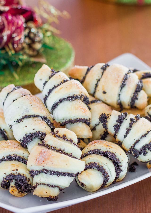 Day 9: Poppy Seed Rugelach