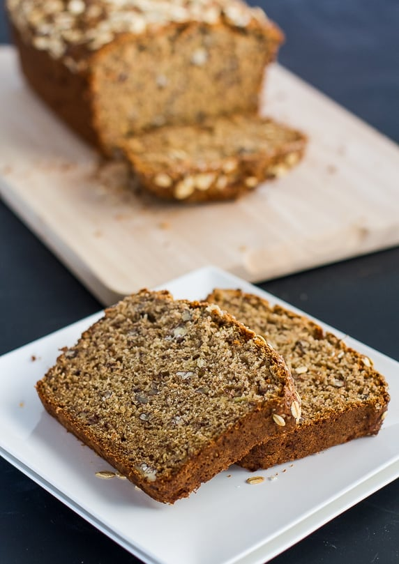 Healthy Whole Wheat Banana Nut Bread – at only 209 calories per ...