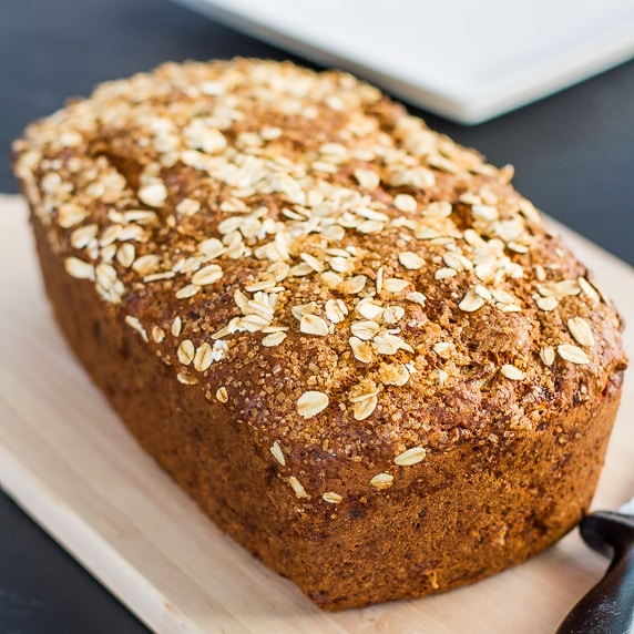 ... and exercise more. This banana bread will help you start right