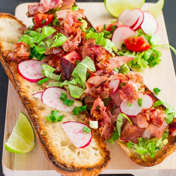 Mexican BLT with Guacamole