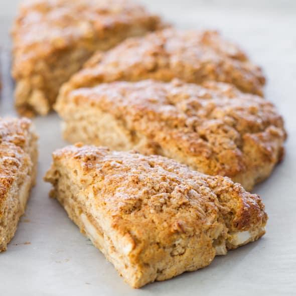 Image result for apple cinnamon scones