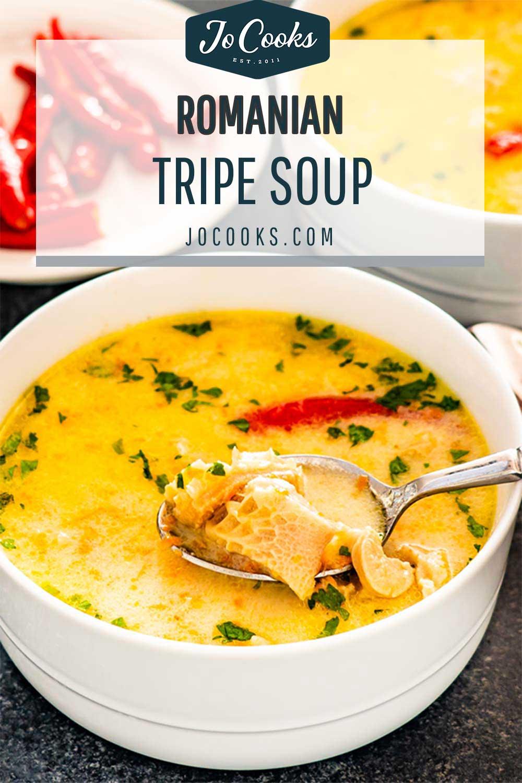 pin for tripe soup.