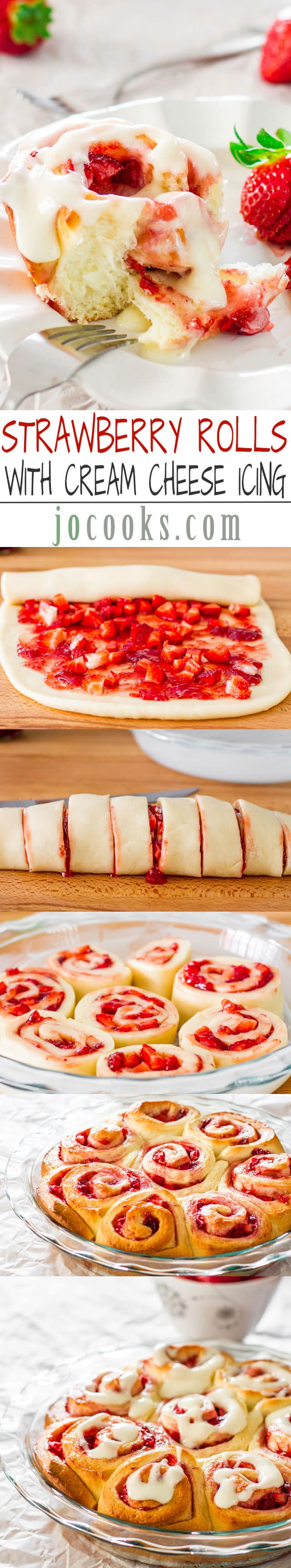 strawberry-rolls-collage