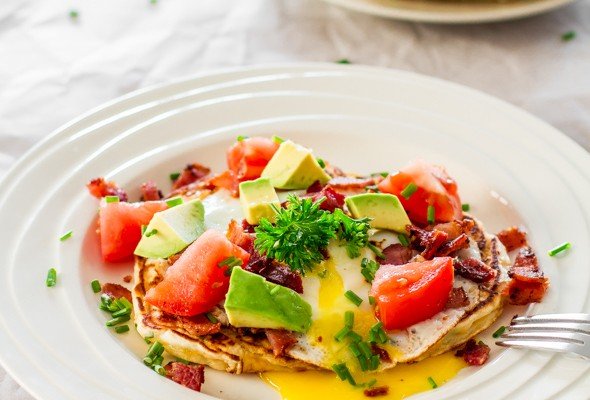 corn-and-chive-pancakes-with-bacon-and-eggs-1