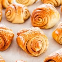 freshly baked finnish cardamom rolls