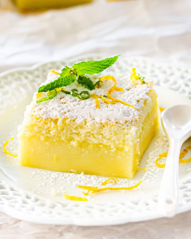 indian lemon dessert recipe Lemon Magic Cake