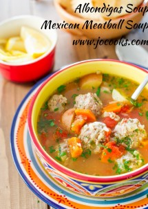 albondigas-soup