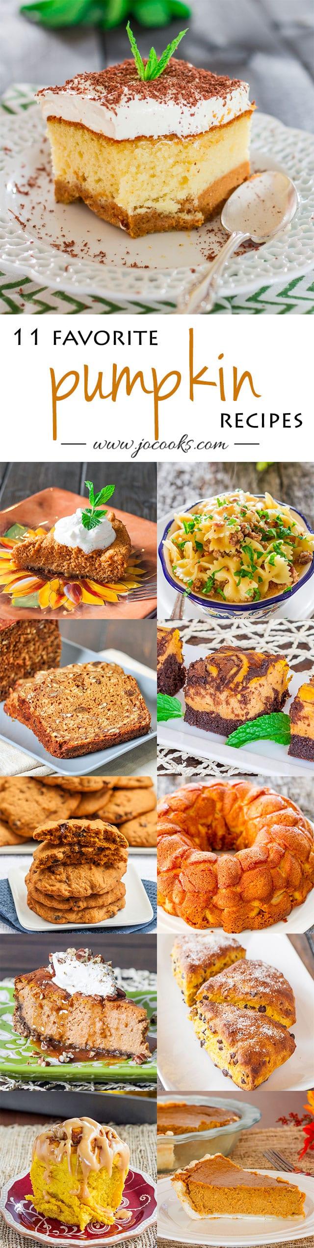 11-favorite-pumpkin-recipes-collage