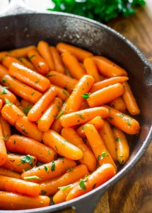 brandy-glazed-carrots