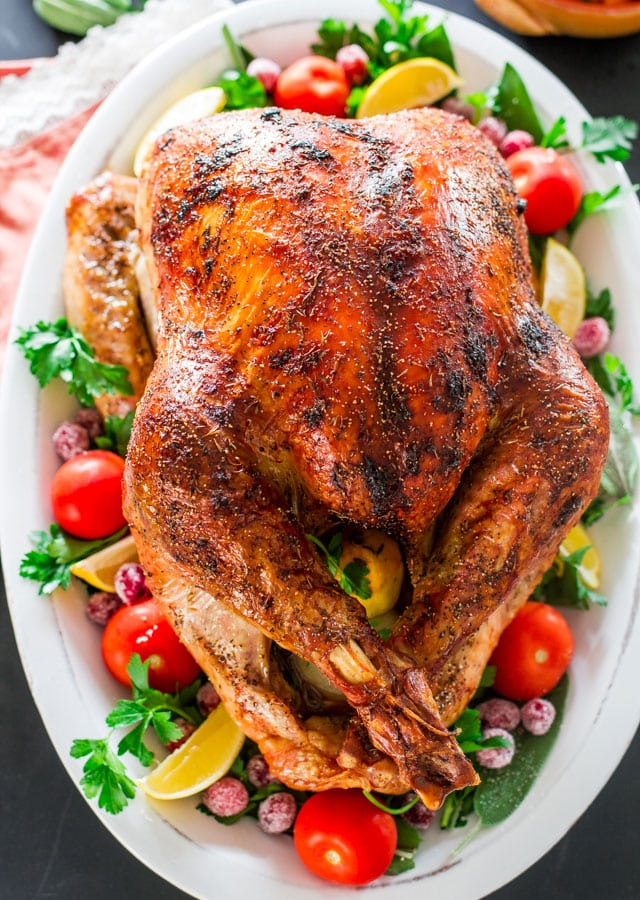 How to Roast a Turkey – learn easy techniques to perfectly roast a turkey. Step by step instructions from start to finish.