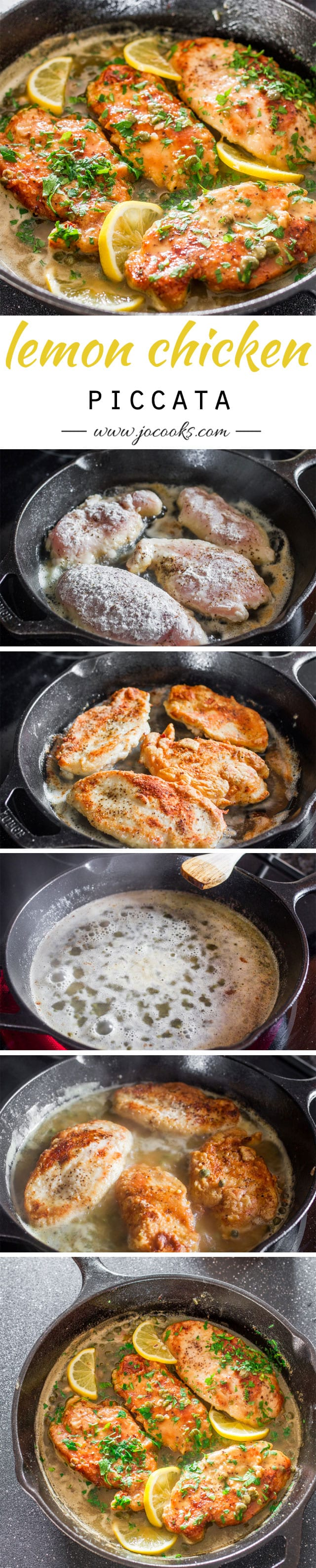 Lemon Chicken Piccata - a simple yet super impressive chicken piccata ...