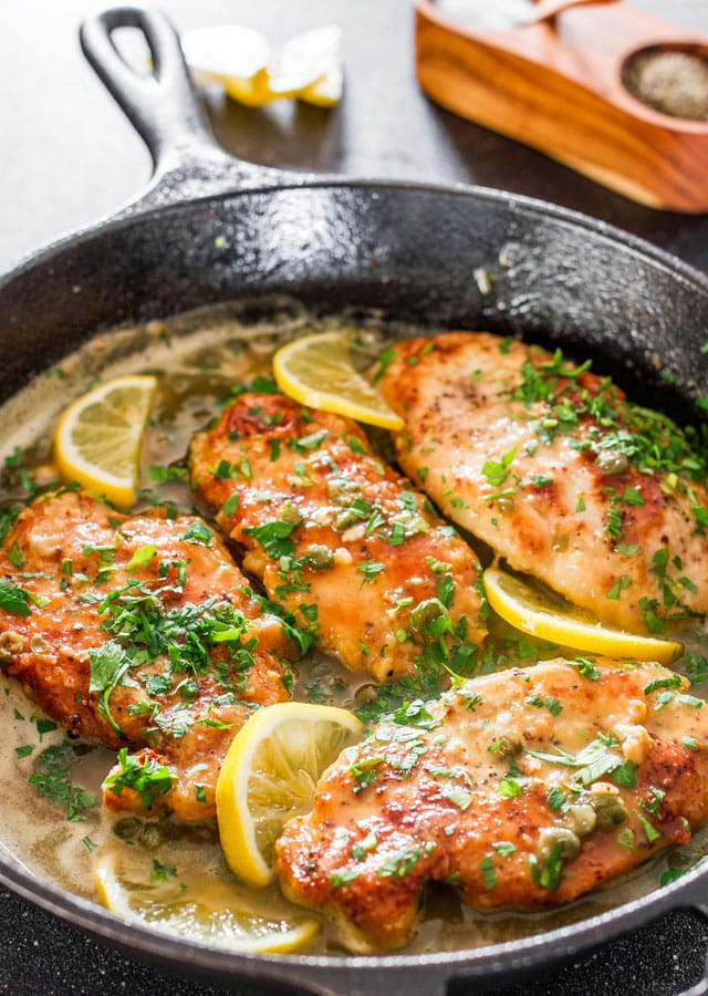 lemon-chicken-piccata
