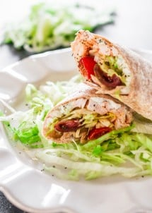 easy-buffalo-chicken-wraps