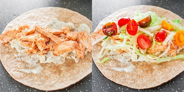 easy-buffalo-chicken-wraps-collage2
