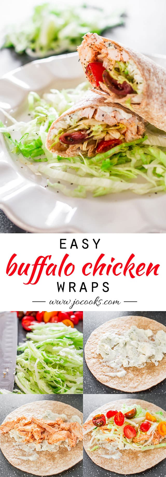 easy-buffalo-chicken-wraps-collage3