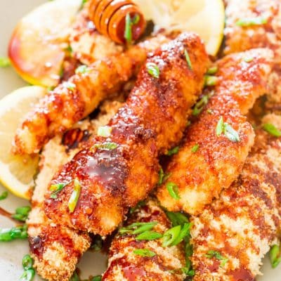 Asian Glazed Chicken Fingers