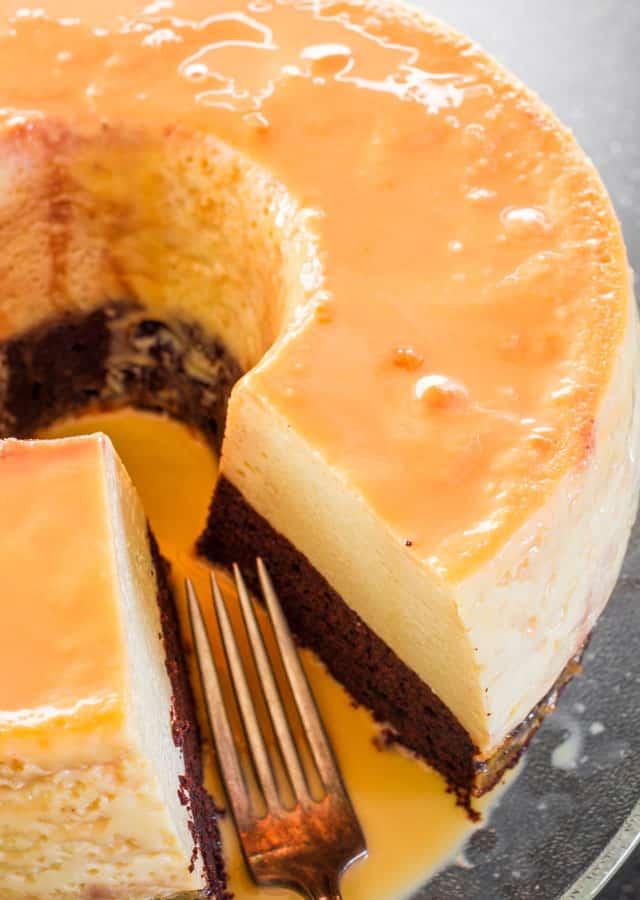 Layer Magic Cake Receipe