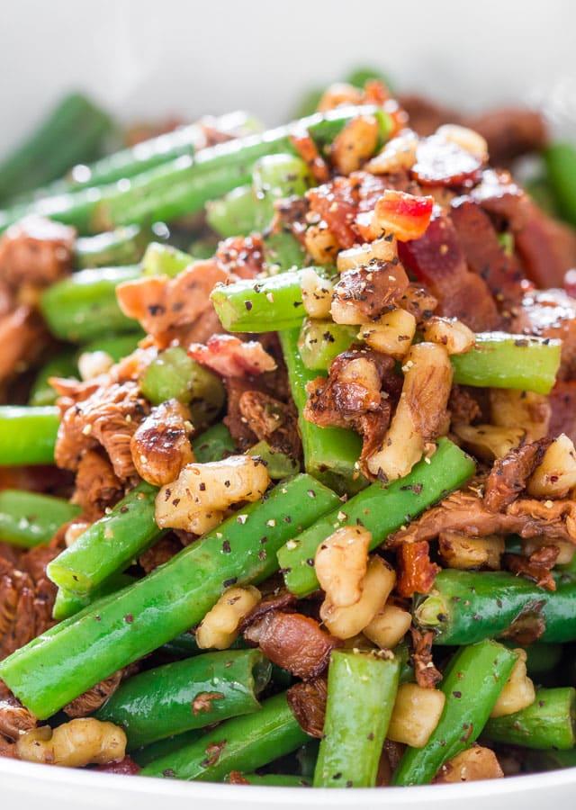 green-beans-and-chanterelle-mushrooms-6