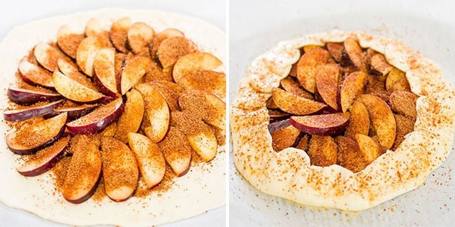 This rustic plum galette or crostata is the perfect mid-summer dessert. It's juicy, delicious and spectacular in its simplicity.